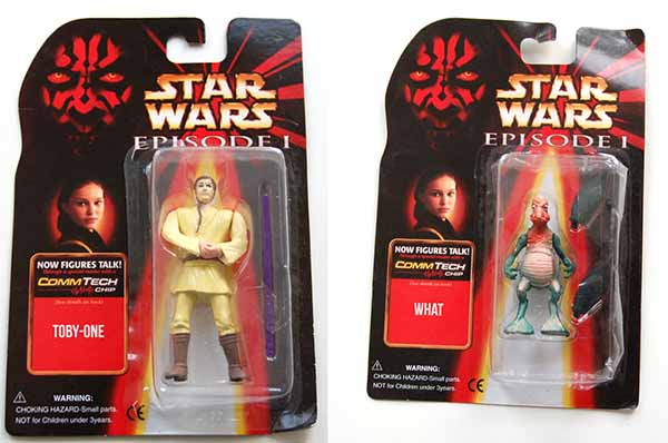Fake Star Wars toys
