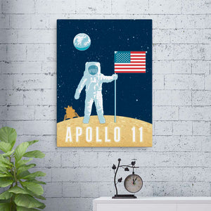 Apollo 11 — Fine-Art Canvas