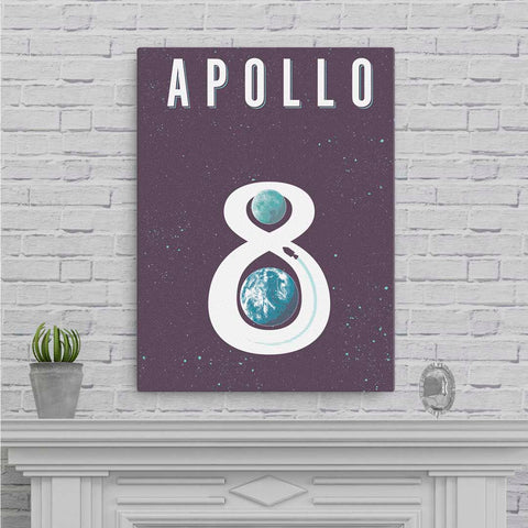 Apollo 8 - Fine-Art Canvas - Oktopolis - Canvas