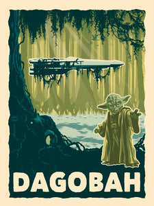 STAR WARS: Destination Dagobah Fine-Art Print