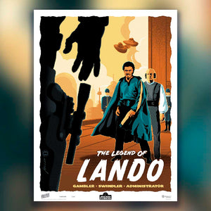 Legend of Lando — FREE WITH PURCHASE* - Oktopolis - Print