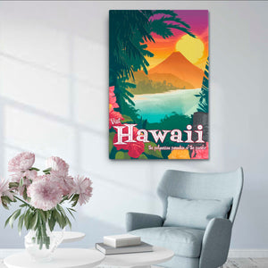 Hawaii - Fine-Art Canvas - Oktopolis - Canvas