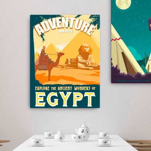 Ancient Wonders of Egypt - Fine-Art Canvas - Oktopolis - Canvas