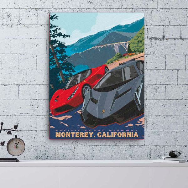 Monterey California — Fine Art Canvas