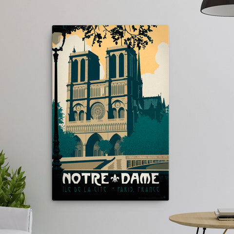 Notre Dame — Fine-Art Canvas - Oktopolis - Canvas