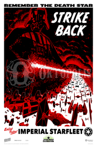 STAR WARS: Remember the Death Star Fine-Art Print - Oktopolis - Silkscreen Art Print