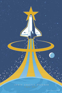 Space Shuttle - Space Exploration Fine-Art Print - Oktopolis - Print