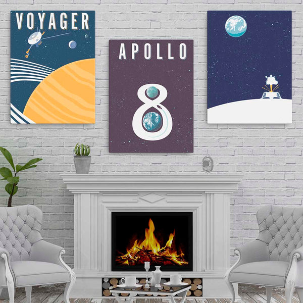 VOYAGER — Fine-Art Canvas - Oktopolis - Canvas