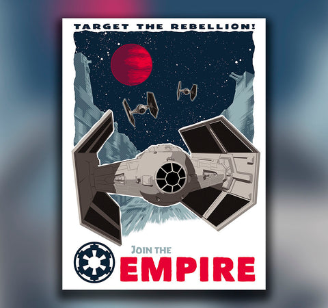 STAR WARS: Target the Rebellion - Oktopolis - Print