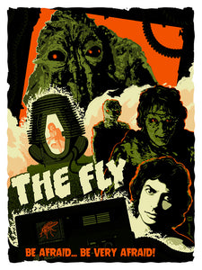 The Fly: Transformation Fine Art Print - Oktopolis - Silkscreen Art Print