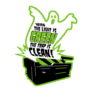 Light is Green — Trap is Clean Sticker