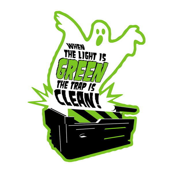 Light is Green — Trap is Clean Sticker - Oktopolis - Sticker