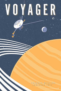 VOYAGER — Space Exploration Fine-Art Print - Oktopolis - Print