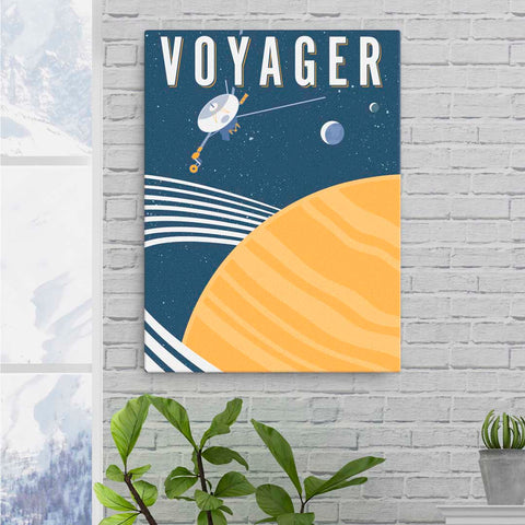 VOYAGER — Fine-Art Canvas
