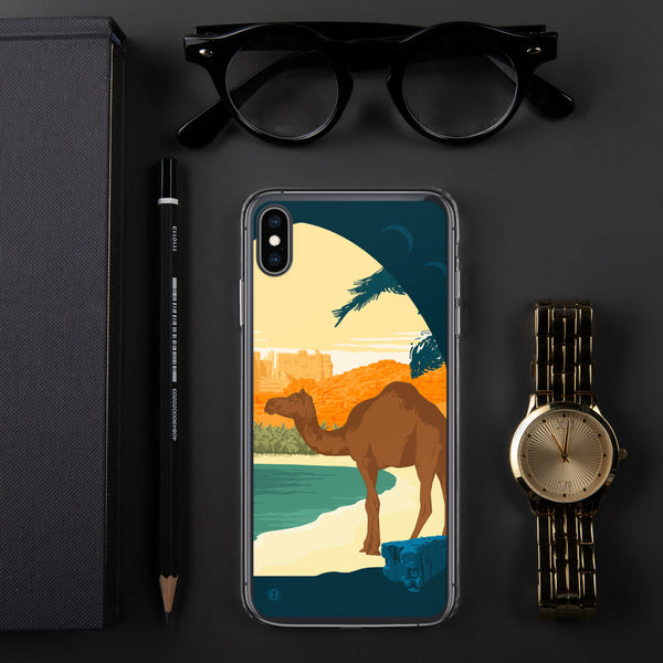 Sunset Camel case for iPhone