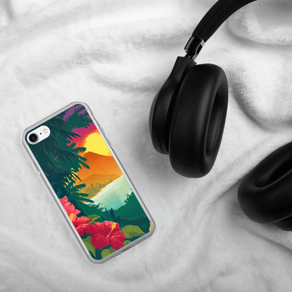 Hawaiian Sunset Case for iPhone - Oktopolis - Phone Case