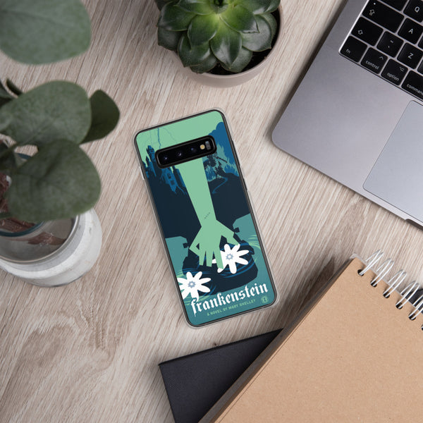 Mary Shelley's Frankenstein case for Samsung Galaxy - Oktopolis - Phone Case