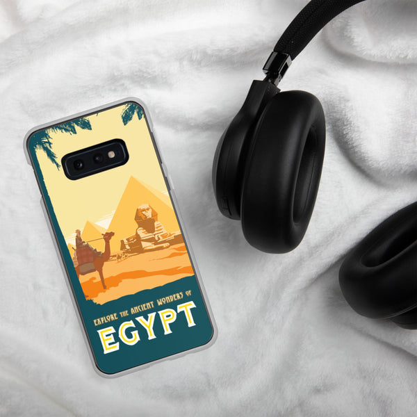 Ancient Wonders of Egypt case for Samsung Galaxy - Oktopolis - Phone Case