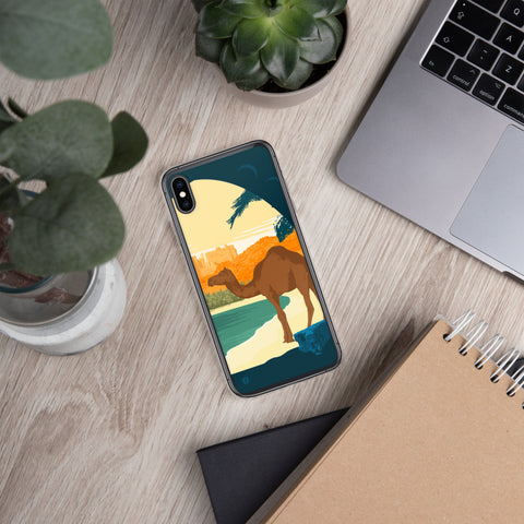 Sunset Camel case for iPhone - Oktopolis - Phone Case