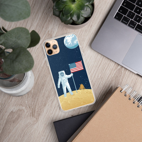 Moon Man Case for iPhone
