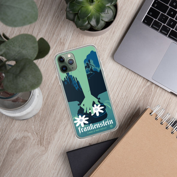Mary Shelley's Frankenstein case for iPhone - Oktopolis - Phone Case