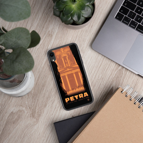 Lost City of Petra case for iPhone - Oktopolis - Phone Case