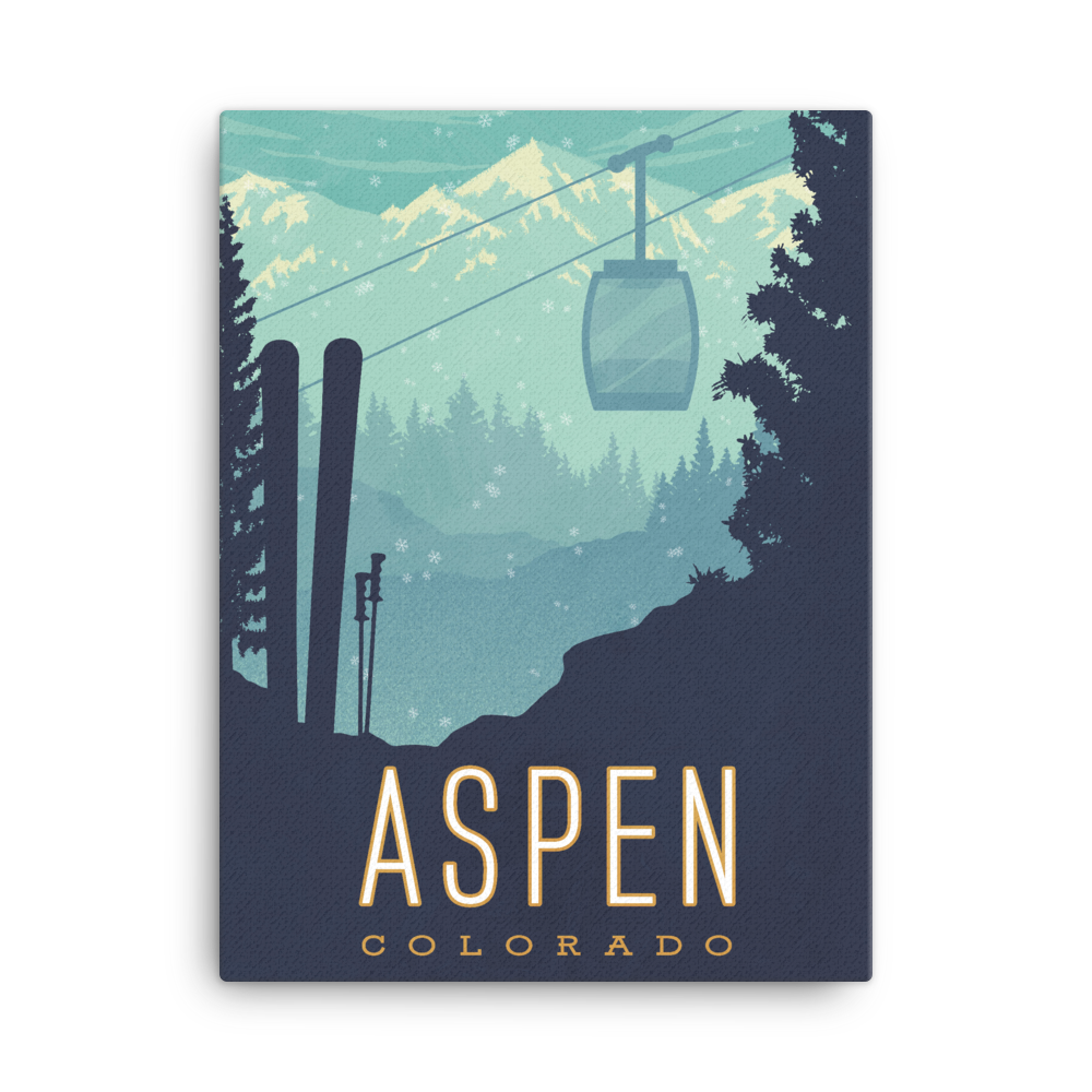 Aspen — Fine-Art Canvas - Oktopolis - Canvas