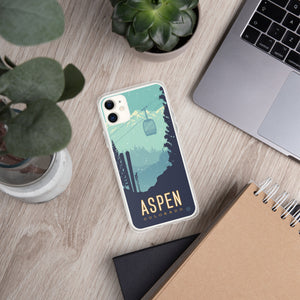 Ski Aspen case for iPhone - Oktopolis - Phone Case