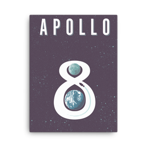 Apollo 8 - Fine-Art Canvas