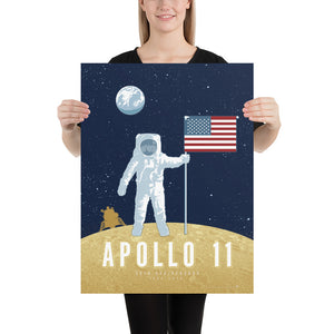 Apollo 11 — 50th Anniversary Space Exploration Fine-Art Print