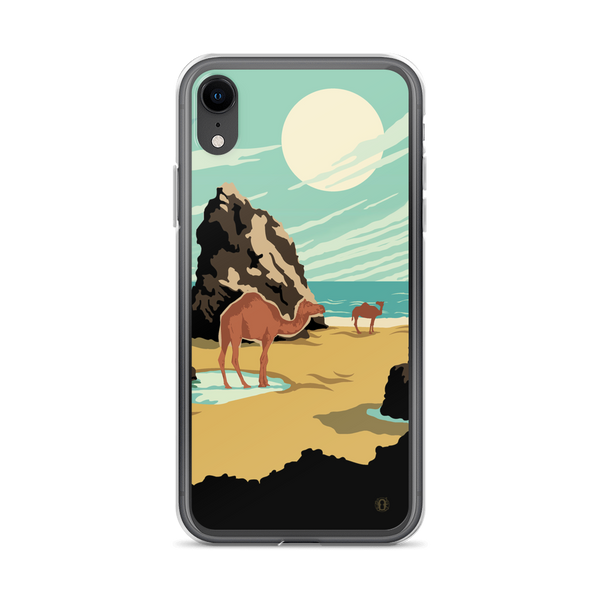 Beach Camels case for iPhone - Oktopolis - Phone Case