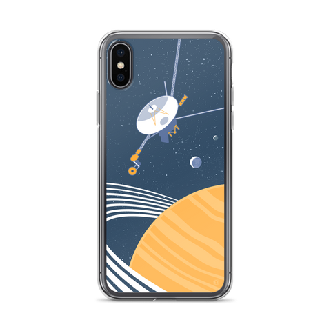 Voyager case for iPhone by Oktopolis to celebrate NASA interstellar space mission