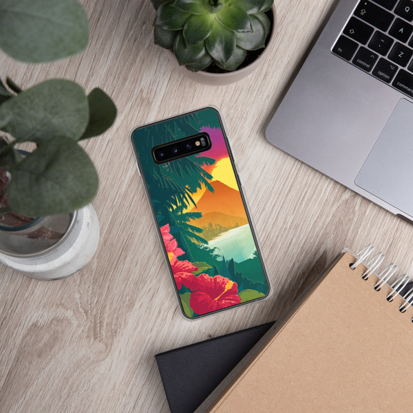 Hawaiian Sunset case for Samsung Galaxy