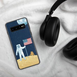 Moon Man Case for Samsung Galaxy - Oktopolis - Phone Case