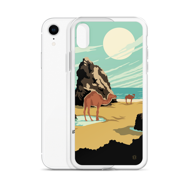 Beach Camels case for iPhone