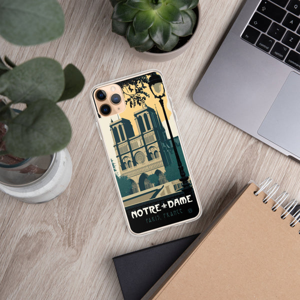 Notre Dame case for iPhone - Oktopolis - Phone Case