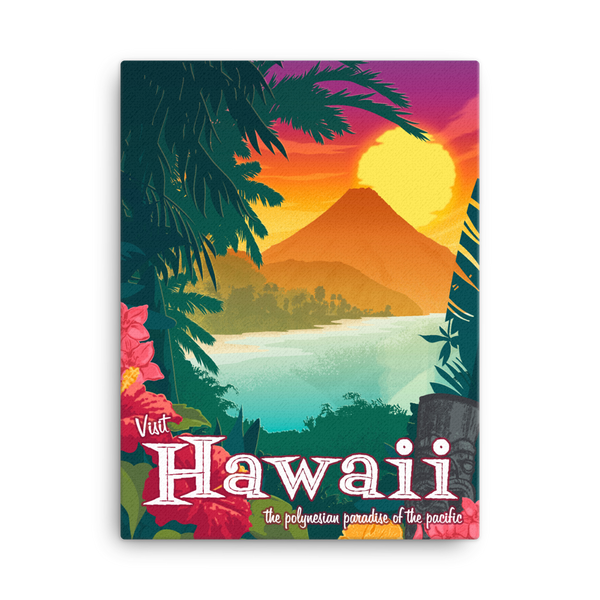 Hawaii - Fine-Art Canvas