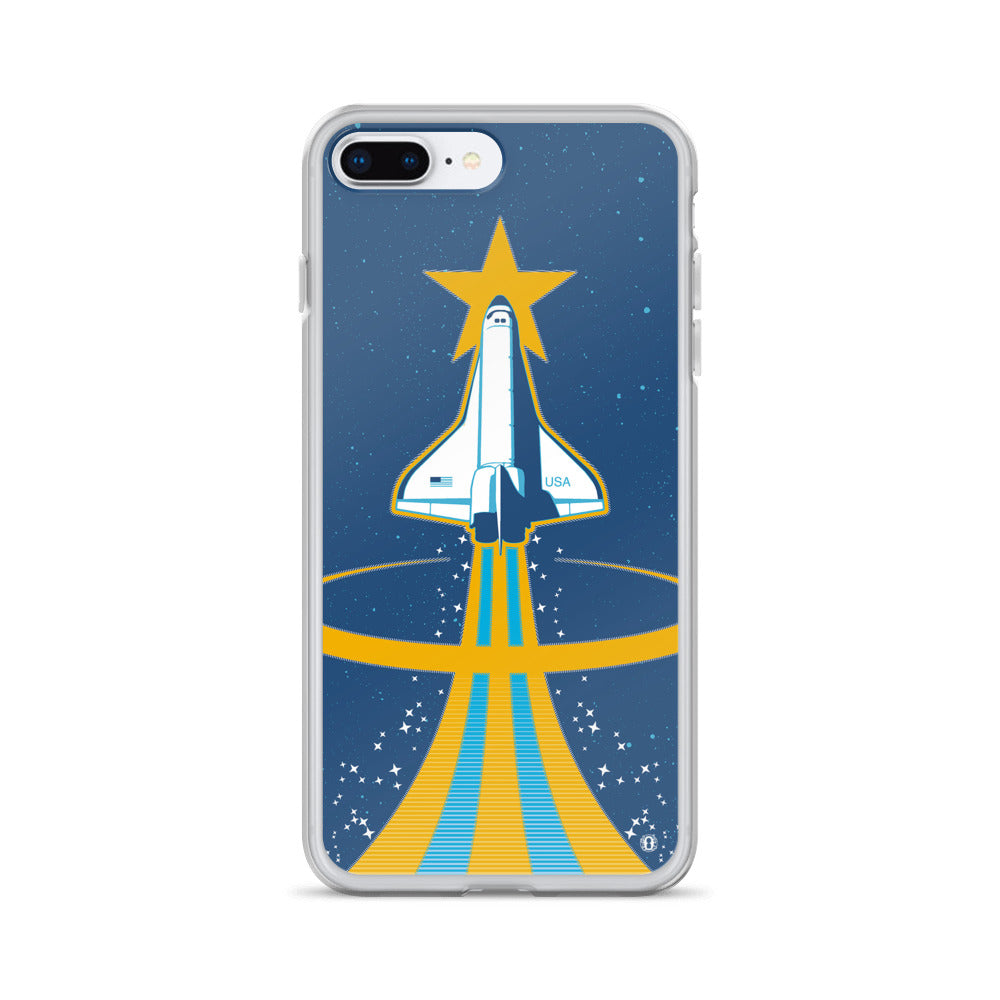 Space Shuttle case for iPhone from oktopolis