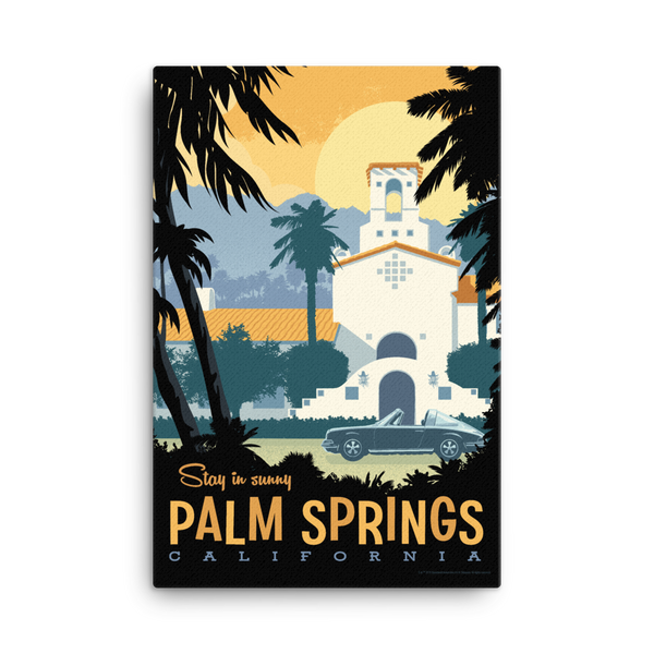 Palm Springs - Fine-Art Canvas