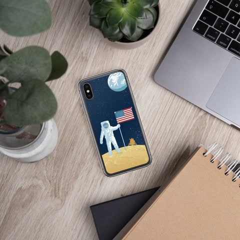 Moon Man Case for iPhone - Oktopolis - Phone Case