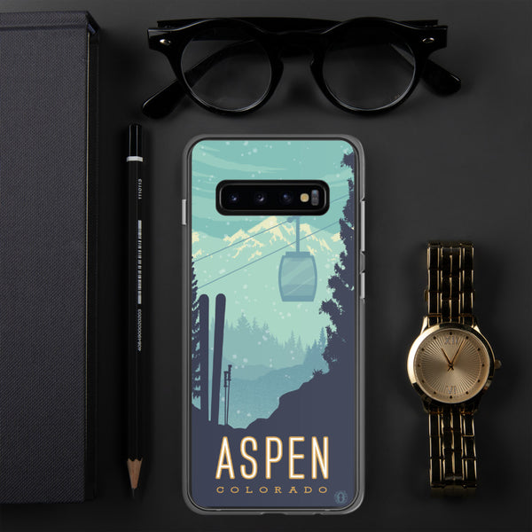 Ski Aspen case for Samsung Galaxy - Oktopolis - Phone Case