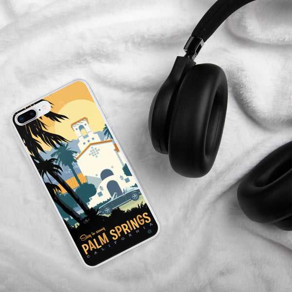 Palm Springs case for iPhone - Oktopolis - Phone Case