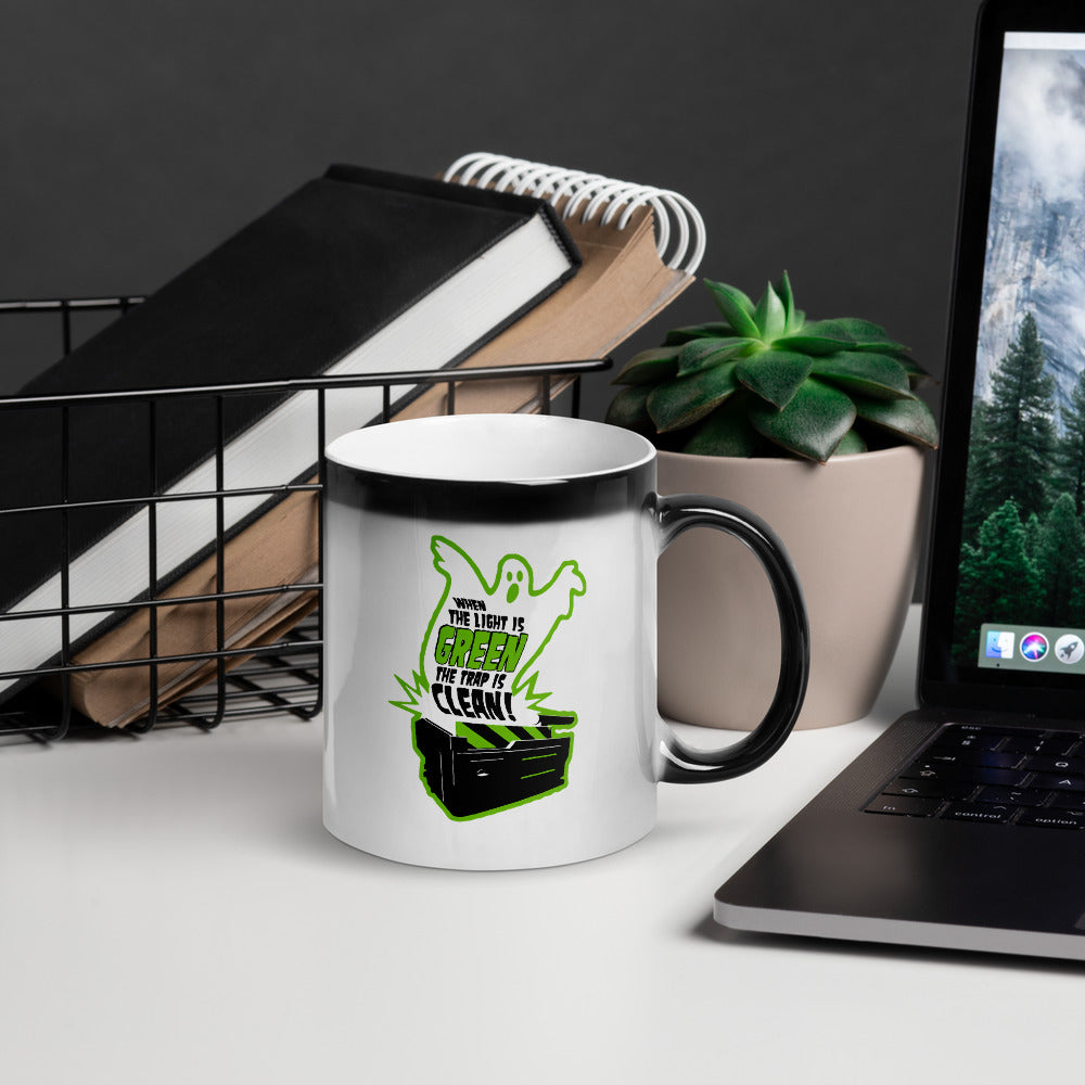 Light is Green — Trap is Clean Magic Mug