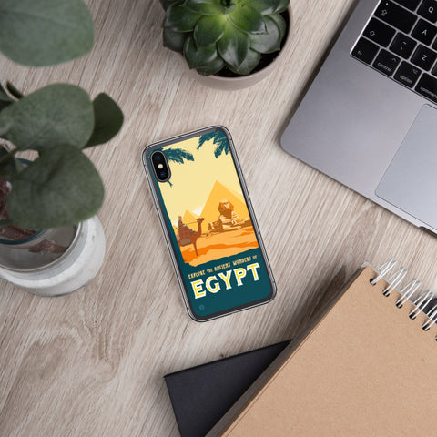 Ancient Wonders of Egypt case for iPhone - Oktopolis - Phone Case