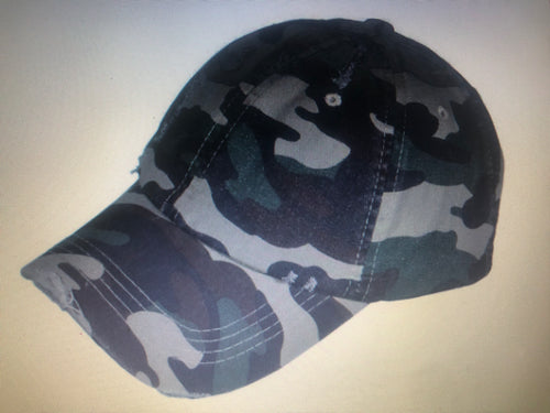 Vintage Polo Camouflage Hat