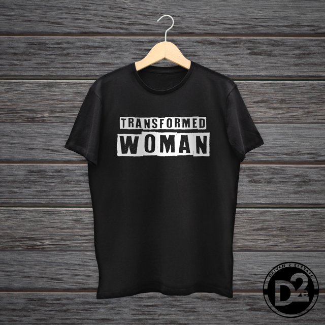 Transformed Woman (Black)