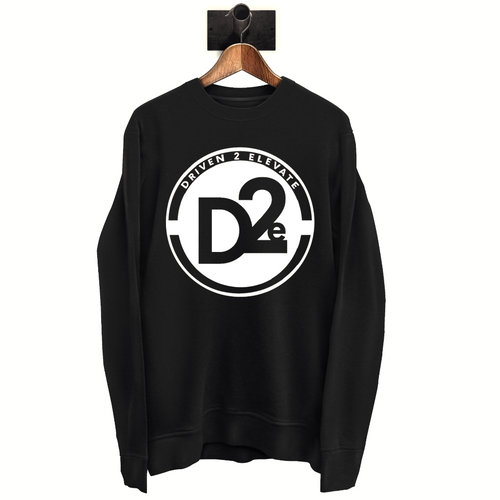 D2e - Black SweatShirt