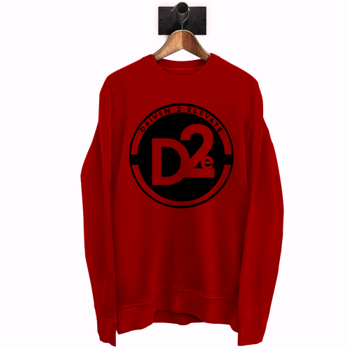 D2e Red Sweatshirt