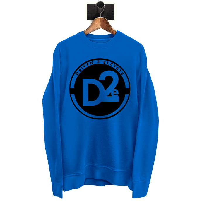 D2e - Blue SweatShirt