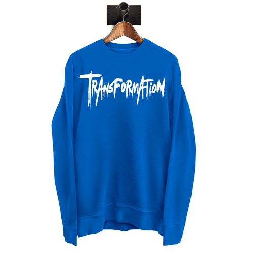 TRANSFORMATION - Blue SweatShirt